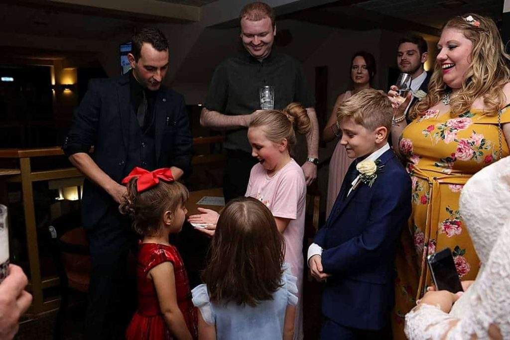 Leeds wedding magician